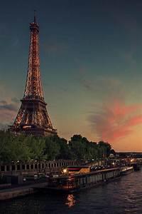 Paris, At, Night, On, Tumblr