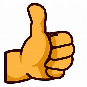 Thumbs Up Sign Emoji for Facebook, Email & SMS | ID#: 7284 ...