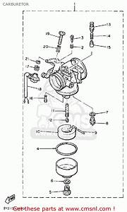 Yamaha Et340tk Enticer 1984  1986 Carburetor