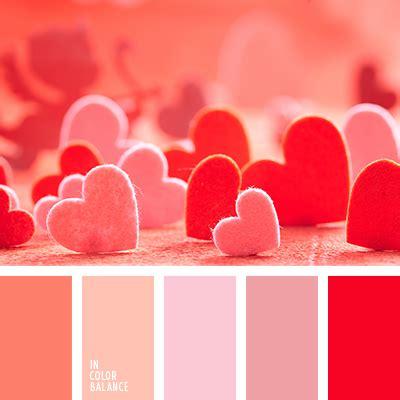 valentines color palette color design red colour