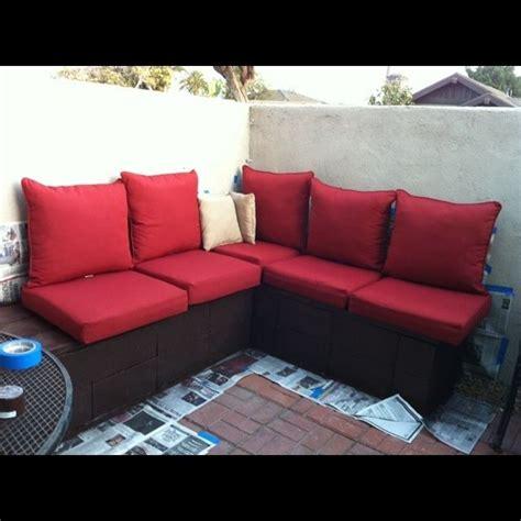 Cinder Block Outdoor Furniture  Wide Open Spaces Pinterest