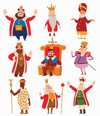 Cartoon Kings Vector King Illustration Prince Clip