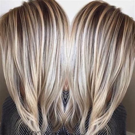 meche sur cheveux blond meches 2018