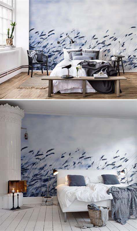 scandinavian light   tapeten fuers schlafzimmer