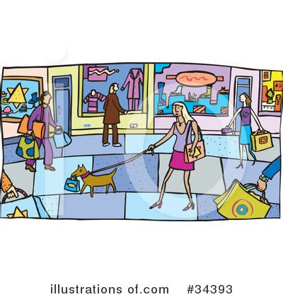 Mall Clipart Shopping Salesperson Clipart Cliparthut Free Clipart