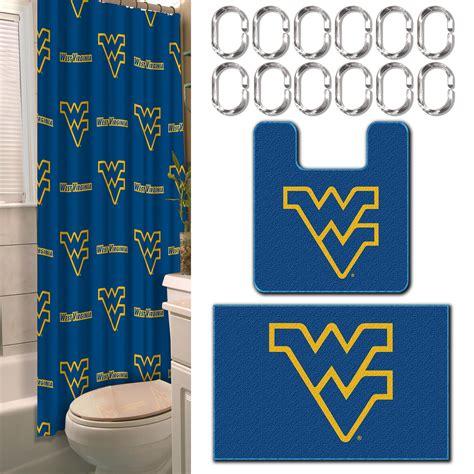 ncaa west virginia universitymountaineers bathroom set