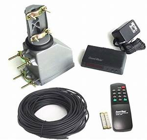 Channel Master Tv Antenna Rotator With Remote And 100ft