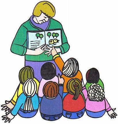 Instructional Teacher Using Materials Teaching Clipart Classroom