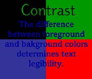 Design Principles: Alignment and Contrast ...