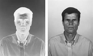 Paper Negative Portrait