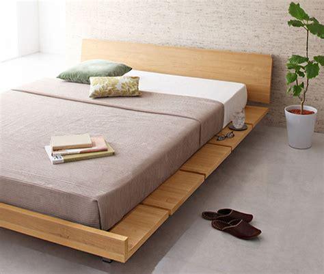 canapé lit muji wood furniture singapore amaya wood bed frame platform
