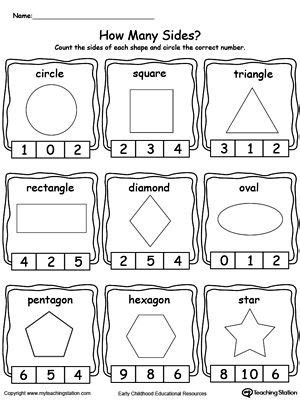 identifying and counting shape sides kool k stuff 558 | 346718c4413e9eb188338026f536c37a