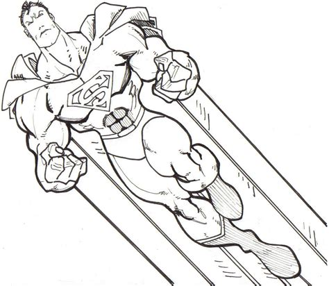Super Hero Super Hero Coloring Pages