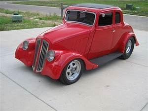 1933 Willys Coupe Red Pro  Street Hot Rod For Sale