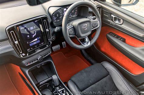 volvo xc40 interior volvo xc40 review interior black and lava