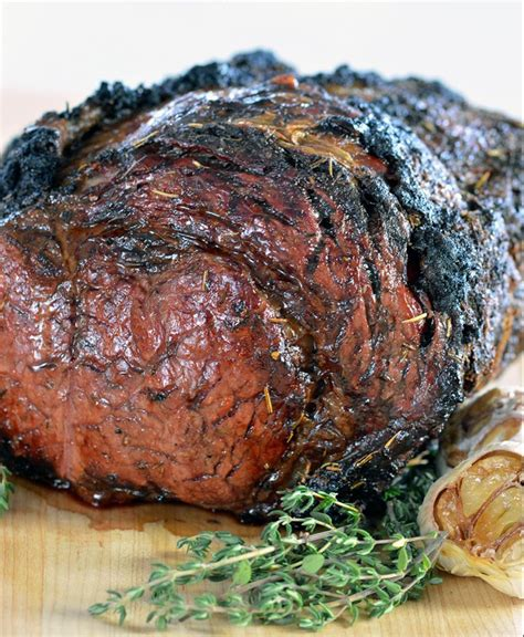 Wondering what to serve with prime rib roast? Easy Garlic Herb Prime Rib Recipe   Rib recipes, Cooking prime rib, Prime rib roast recipe