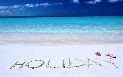 Sunny Sky Holiday Quiet Calm Swim Joy