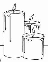 Candle Coloring Drawing Drawings Kolorowanki Znicze Candles Step Draw Wax Sketch Adult Pencil Google Szukaj Watercolor Jar Dawn sketch template