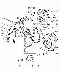 2007 Chrysler Pt Cruiser Drum  Brake  Axle  Rear  Ratio