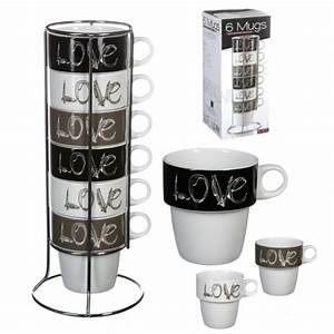 Support Tasse à Café : 6 tasse a cafe support metal mug love deco ~ Teatrodelosmanantiales.com Idées de Décoration