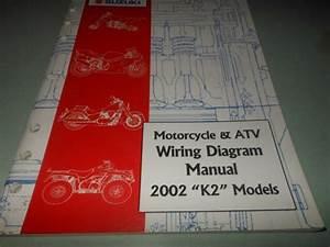 Suzuki Oem 2002 K2 Wiring Diagram Manual Hayabusa Rm Dr Sv