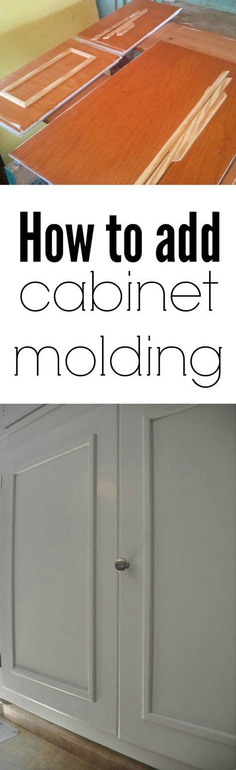 how to update kitchen cabinets with molding 35 best diy cabinet refacing images on kitchen 9595