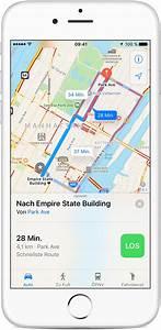 Auto Route Berechnen : karten app auf dem iphone ipad oder ipod touch verwenden apple support ~ Themetempest.com Abrechnung