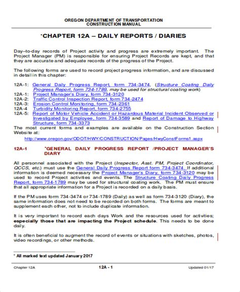 sample excel templates daily progress report format