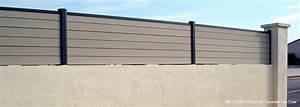 Panneau Brise Vue Composite : brise vue bois hauteur 120 ~ Nature-et-papiers.com Idées de Décoration