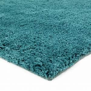 Tapis Scandinave Bleu : tapis shaggy bleu scandinave doux 60x90cm caline petit tapis descente de lit pas cher ~ Teatrodelosmanantiales.com Idées de Décoration