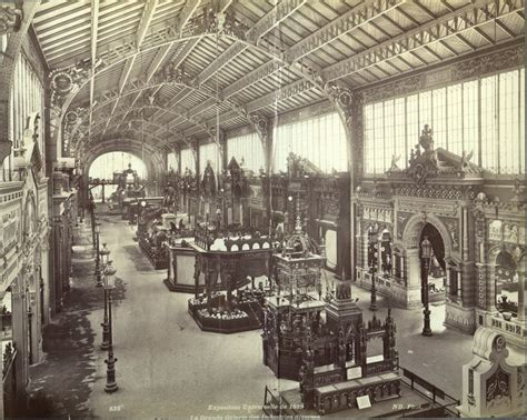 France Expo 1889 Historic Architectural Images