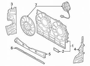 Audi S8 Fan  Motor   Front   4 0 Liter  4 2 Liter  6 3