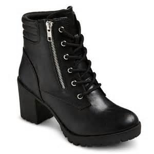 target womens boots mossimo 39 s mossimo supply co easton chunky heel com target
