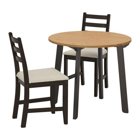 ikea table et chaise gamlared lerhamn table and 2 chairs ikea