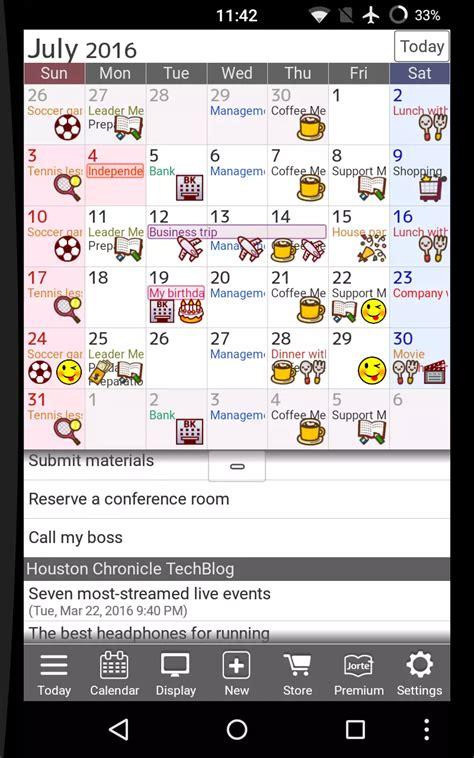 Best Calendar App For Android by Calendar App For Android Jorte Calendar Organizer
