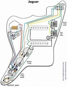Wiring Diagram Specific To Jaguar Kurt Cobain With Sd 59 Humbuckers