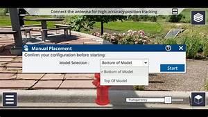 Trimble Sitevision Tutorial  Manual Model Placement