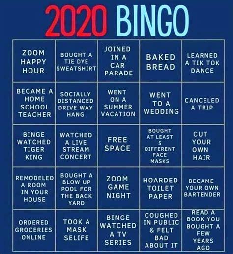 Bingo instagram stories by canva. 2020 Instagram Bingo Boards Highlight Shared Quarantine Experiences - The Market Mail