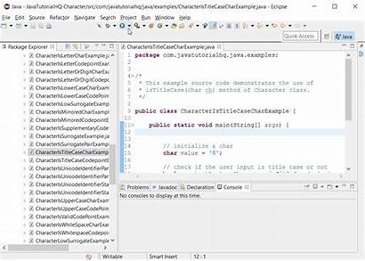 Example Java Char Ch Character Method