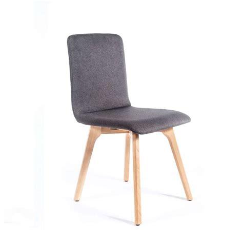 Chaise De Séjour Moderne En Tissu Dos Matelassé  Plaza 2