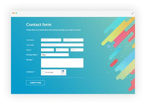 joomla contact form builder formbuilder