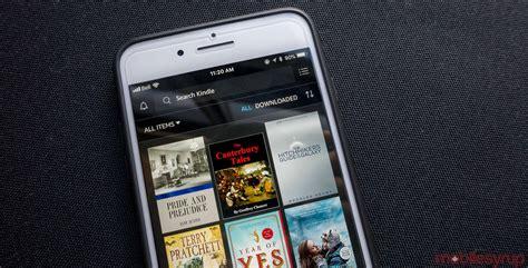amazons kindle app  design overhaul  goodreads