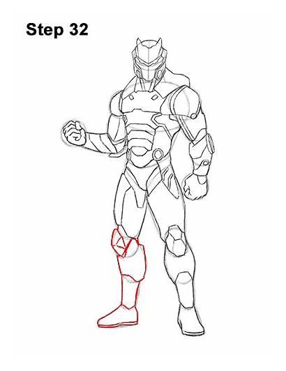 Fortnite Draw Omega Skin Step Skins Easy