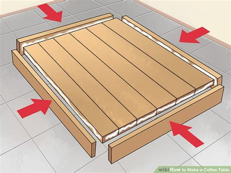 How To Make A Coffee Table 15 Steps (with Pictures) Wikihow