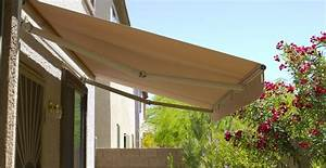 Die markisenabdeckung schutzt mechanik und stoff for Markise balkon mit tapete selbst bedrucken
