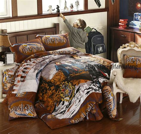 Harry Potter Bed Set by Stunning Harry Potter Magic School 8pc Comforter In