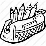 Pencil Case Icon Clipart Education Tools Premium Writing Icons Utensils Tool Pack Drawn Hand Svg Flaticon sketch template