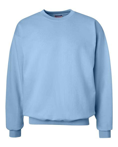 light blue crew neck sweatshirt hanes mens ultimate cotton crewneck sweatshirt fleece crew