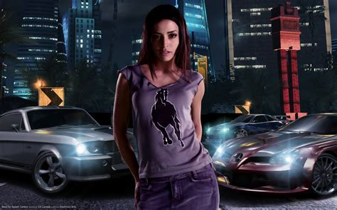 speed carbon girl  wallpaper hd car wallpapers