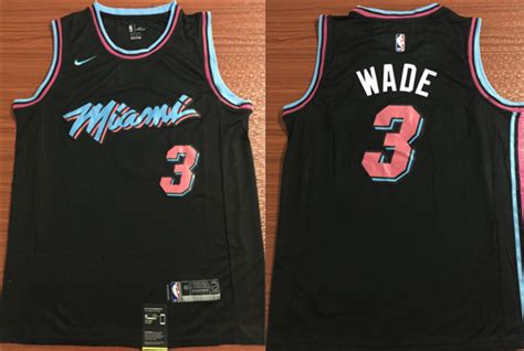 Get Nba Jerseys Miami Heats 3 Dwyane Wade Black Jerseys